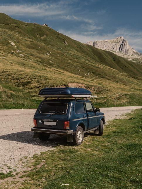 Nomady camp camping chweiz Graubuenden My Camper Lada22