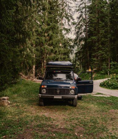 Nomady camp camping chweiz Graubuenden My Camper Lada31b